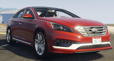 Моды для GTA 5 2015 Hyundai Sonata 2.0T Sport