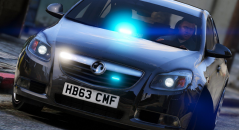 Моды для GTA 5 Unmarked Vauxhall Insignia
