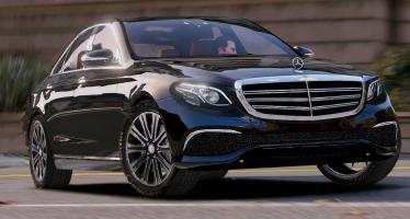 Моды для GTA 5 2016 Mercedes-Benz E Class (E350e)