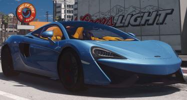 Моды для GTA 5 2017 McLaren 570GT
