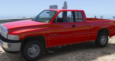 Моды для GTA 5 2001 Dodge Ram 1500 Club Cab