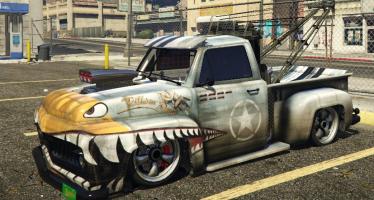 Моды для GTA 5 Benny's Custom Tow Truck