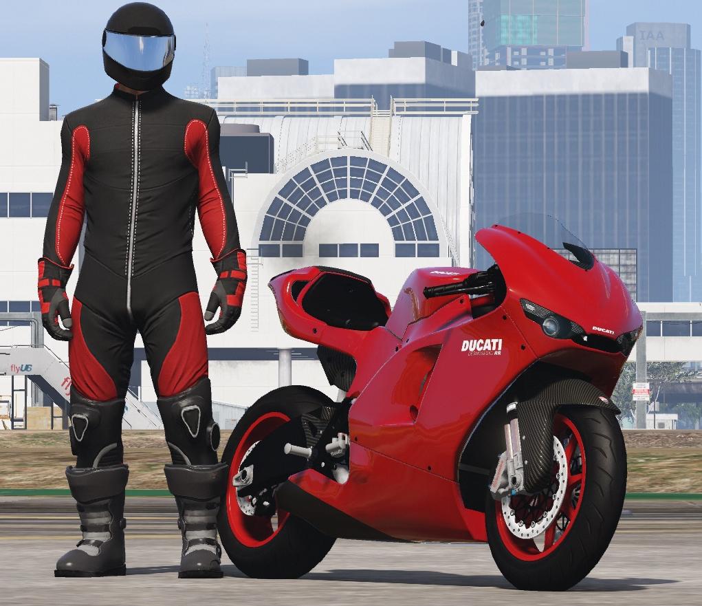 Моды для GTA 5 Ducati Desmosedici RR '08.
