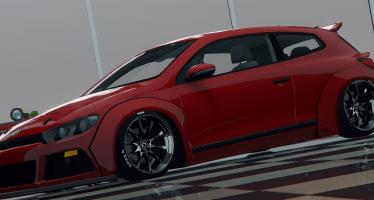 Моды для GTA 5 Volkswagen Scirocco Widebody