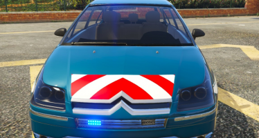 Моды для GTA 5 Citroën C4 Gendarmerie