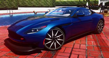 Моды для GTA 5 2016 Aston martin DB11