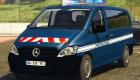 Моды для GTA 5 Mercedes Vito Gendarmerie Realiste