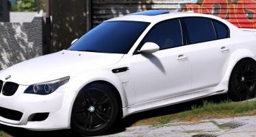 Моды для GTA 5 BMW M5 E60 Lumma