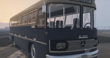 Моды для GTA 5 Mercedes Benz O362 Bus