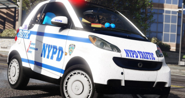 2012 Smart NYPD для GTA 5