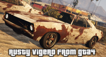 Моды для GTA 5 Rusty Vigero from GTA IV