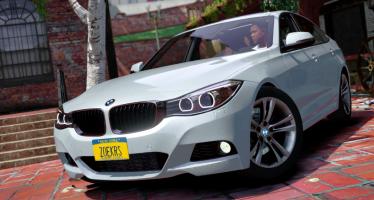 Моды для GTA 5 BMW 335i GT