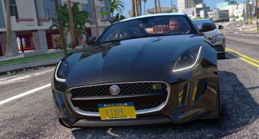 Моды для GTA 5 Jaguar F-Type R & SVR