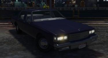 Моды для GTA 5 1989 Chevrolet Caprice - Taxi Version