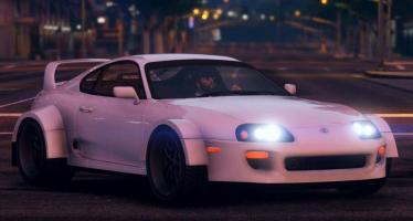 Моды для GTA 5 Toyota - Yasid Design