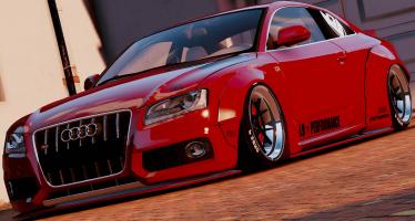 Моды для GTA 5 Audi S5 Liberty Walk