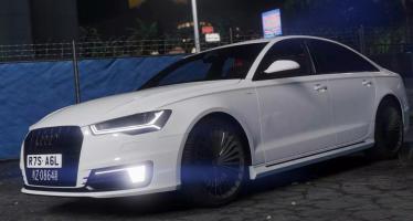 Моды для GTA 5 Audi 2017 A6L e-tron