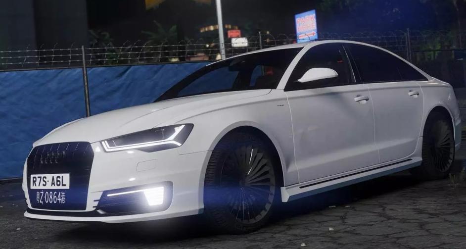 Моды для GTA 5 Audi 2017 A6L e-tron.