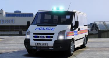 Моды для GTA 5 Civilian and Met Police Ford Tourneo