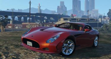 Моды для GTA 5 AC 378 GT Zagato