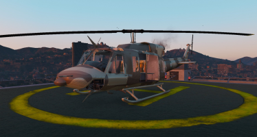 Моды для GTA 5 Bell 212