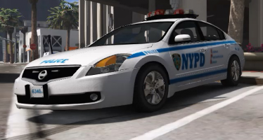 Моды для GTA 5 Nissan Altima Hybrid NYPD