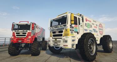 Моды для GTA 5 Rally Truck