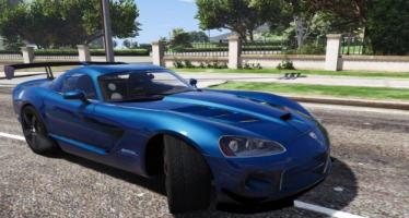 Моды для GTA 5 Dodge Viper SRT-10 ACR