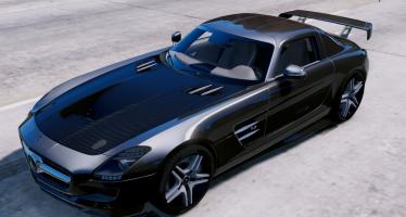 Моды для GTA 5 Mercedes-SLS AMG Seagull Wings