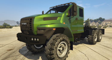 Моды для GTA 5 Ural Next