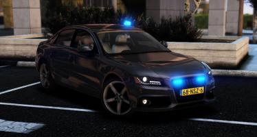 Моды для GTA 5 Unmarked Audi A4