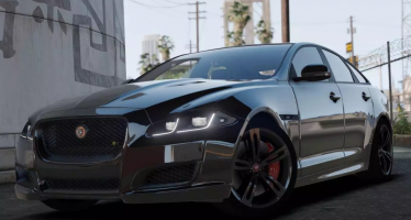 Моды для GTA 5 2016 Jaguar XJR