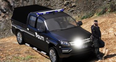 Моды для GTA 5 Volkswagen Amarok - Danish Police