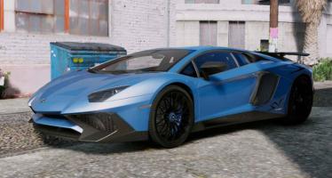 Моды для GTA 5 Lamborghini Aventador LP750-4 SuperVeloce