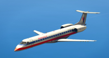 Моды для GTA 5 Embraer ERJ-145 LR American Eagle