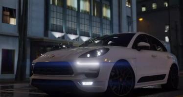 Моды для GTA 5 2017 Porsche Macan GTS