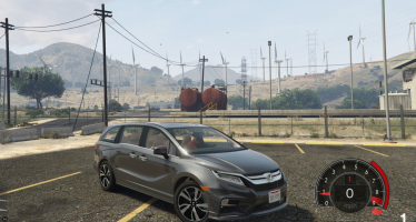 Моды для GTA 5 2018 Honda Odyssey Elite