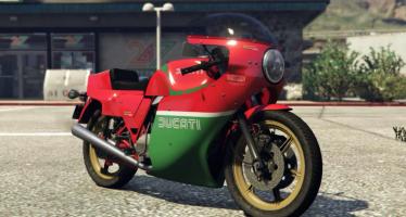 Моды для GTA 5 Ducati 900 MHR