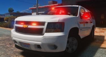 Моды для GTA 5 Chevy Tahoe - Fire