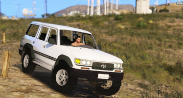 Моды для GTA 5 Toyota Land Cruiser Autana 1997