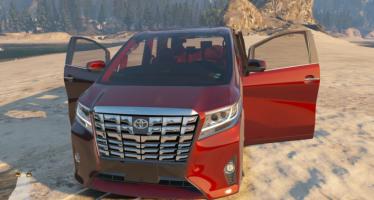 Моды для GTA 5 Toyota Alphard