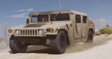 Моды для GTA 5 M1025 HMMWV Base spec