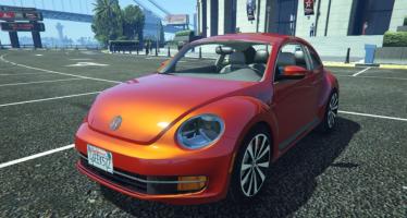 Моды для GTA 5 Volkswagen Beetle 2013