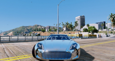 Моды для GTA 5 Aston Martin One-77 Edition