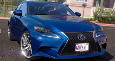 Моды для GTA 5 Lexus IS350 F-Sport 2014