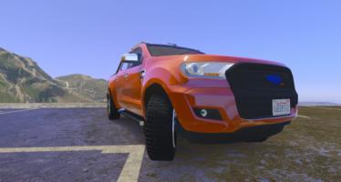 Моды для GTA 5 Ford Wildtrak 2016