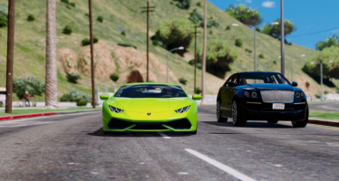 Моды для GTA 5 Lamborghini Huracan LP610-4 Edition