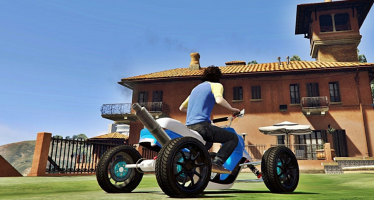Моды для GTA 5 Booster Quad