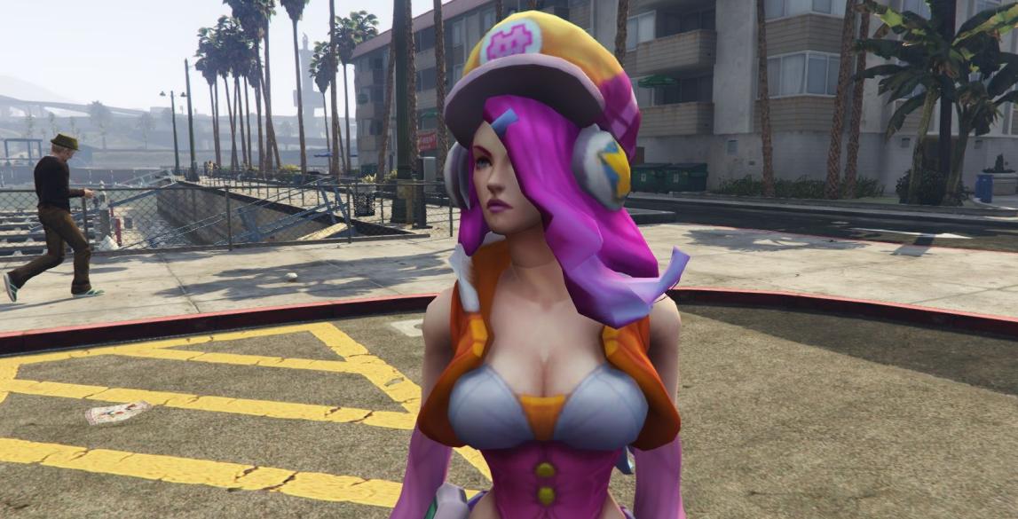 Моды для GTA 5 Miss Fortune League of Legends