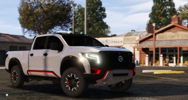 Моды для GTA 5 Nissan Titan Warrior 2017